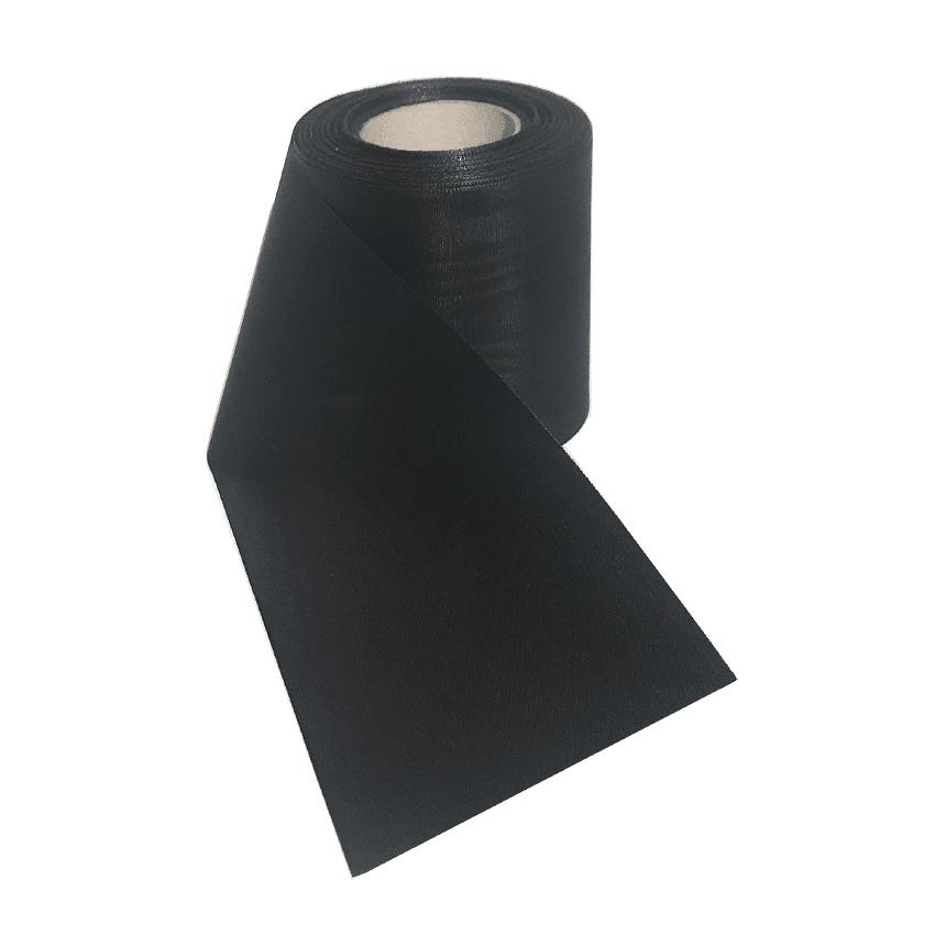 Leinalint must matusepärjale ja leinakimbule