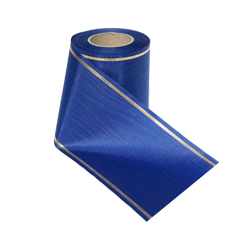 Leinalint sinine kuldäärega leinakimbule ja pärjale